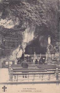 France Lourdes La Grotte 1909
