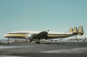 TRANS OCEAN Constellation Airplane , 80-90s