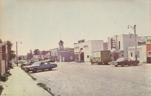 Main Street , BASHAW , Alberta , Canada , 1950-60s
