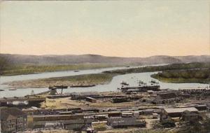 Panama The Panama Canal and The Balboa Machine Shops