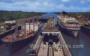 República de Panamá Gatun Locks Panama Canal