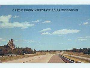 Pre-1980 INTERSTATE 90 & 94 JUNCTION Mauston And Tomah Wisconsin WI hJ6517@