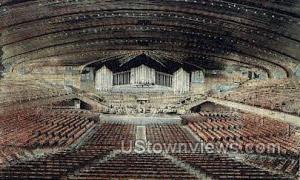 Interior Of Auditorium Ocean Grove NJ 1913 missing stamp