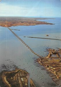 France Pont d'Oleron Bridge Brucke Aerial view Panorama