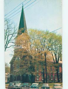 Unused Pre-1980 CHURCH SCENE Montpelier Vermont VT A7563