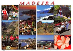 Postcard MADEIRA, Views of the Island #892