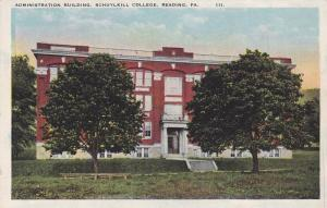 Administration Building, Schuylkill College, Reading, Pennsylvania, 10-20s
