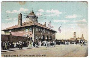 Revere Beach, Mass, State Bath House