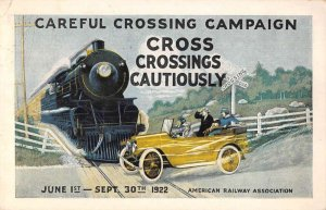 American Railway Association Union Pacific Railroad Safety Crossing PC AA22473