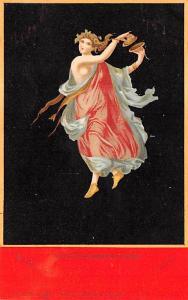 Bacchante Danseuse de Pompei, G Brogi Succ Unused
