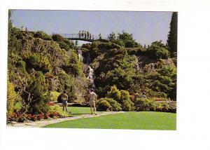 Quarry Gardens, People, Foot Bridge, Queen Elizabeth Park Vancouver British C...