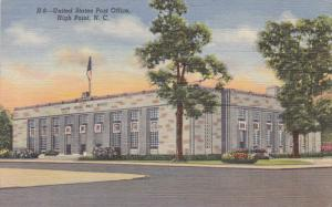 United States Post Office, HIGH POINT, North Carolina, 30-40s