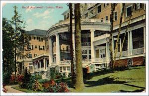 Hotel Aspinwall, Lenox MA