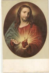 ·The Heart of Jesus Vintage Italian relibious PoSTCARD