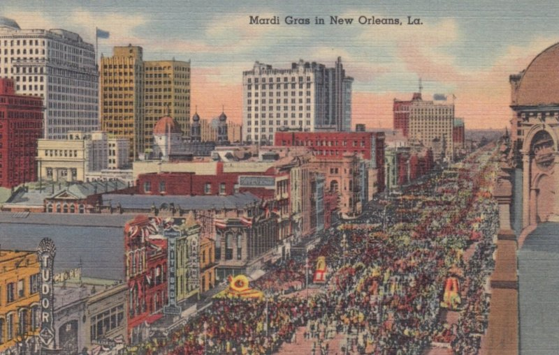 NEW ORLEANS , Louisiana , 1930-40s ; Mardi Gras Parade