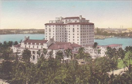 Florida Palm Beach The Whitehall Handcolored Albertype