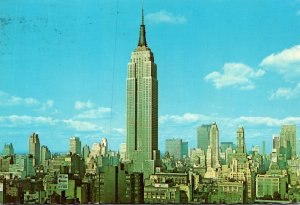 New York City The Empire State Building 1973