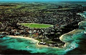 Barbados Bridgetown Seawall Airport Aerial View
