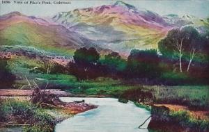 Colorado Vista Of Pikes Peak