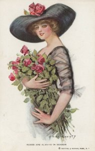 CHRISTY , F. Earl : Roses are always in season , 1916