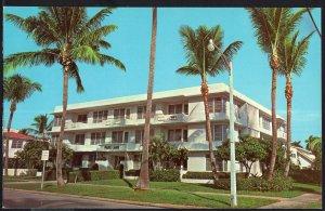 FL Park Lane Apartment Hotel on Brazilizn Ave. PALM BEACH - Chrome 1950s-1970s