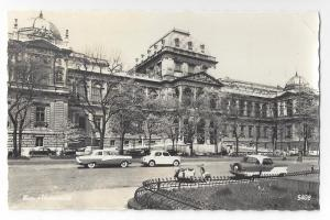 RP Austria Wien Vienna University Cars 1960's Real Photo