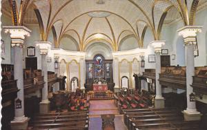 Cathedral of the Holy Trinity, Interior View, QUEBEC CITY, Quebec, Canada, 40...