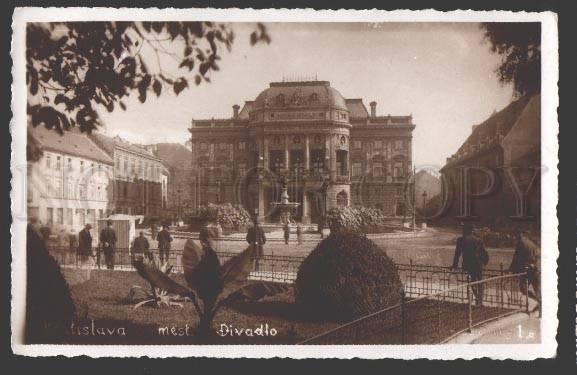 108689 Slovakia BRATISLAVA National Theatre of Czechoslovakia
