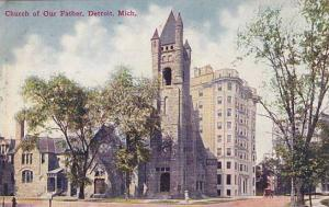 Michigan Detroit Church Of Our Father 1909