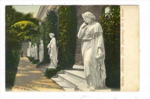 Corfou. Achilleion. (Villa Imperiale). Les 9 muses, Greece, 1890s