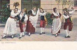 Couples Doing Typical Dances, Tarantella, 1900-1910s
