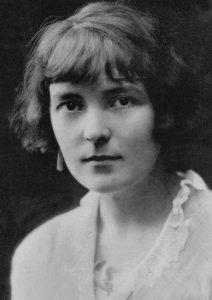 Katherine Mansfield Prelude Bliss Book Author Stunning Portrait Postcard