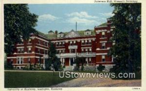 University of Kentucky Lexington KY Writing On Back