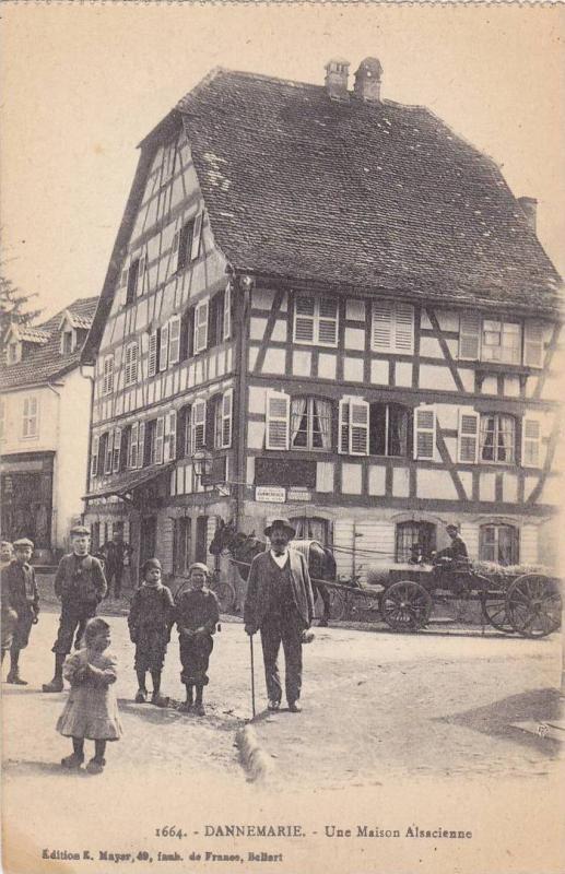 Dannemarie (haute Rhin) , France , 00-10s ; Une Maison Alasacienne