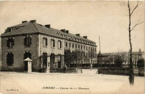 CPA LIMOGES - Caserne du 21 Chasseurs (390697)