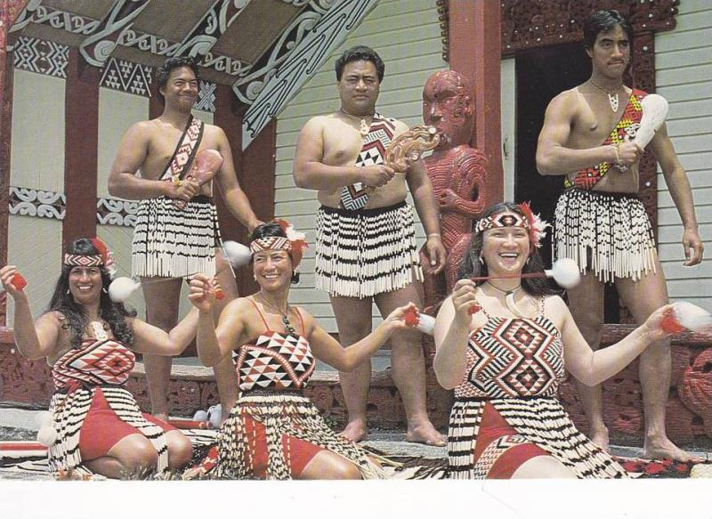 Maori , New Zealand , 50-70s