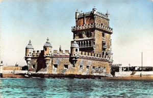 Portugal Lisboa Torre de Belem Tower Postcard