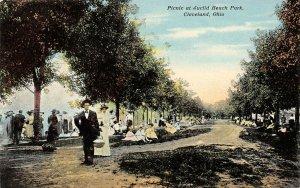 LP22    Cleveland Ohio Euclid Beach Amusement Park  Postcard