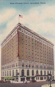 Illinois Springfield Hotel Abraham Lincoln