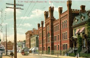 CT - New Haven - 2nd Regiment Armory, Meadow Street