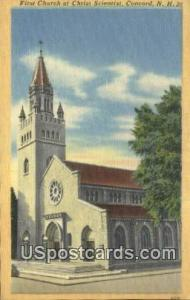 First Church of Christ Scientist Concord NH Unused