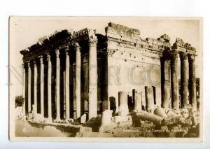 246861 Lebanon BAALBECK Bacchus Temple Vintage photo postcard