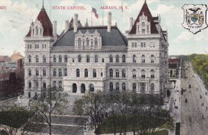 ALBANY, New York, PU-1907; State Capitol