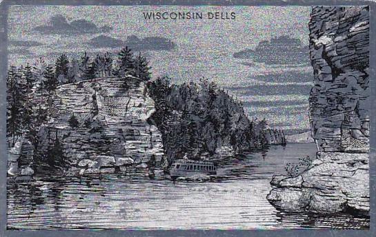 Foilex Card Jaws Of The Dells Wisconsin Dells