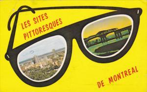 MONTREAL, Quebec, Canada, PU-1968; Les Sites Pittoresques