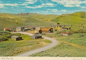 South Pass City Historic Gold Mining Town Founded 1867 Near Continental Divid...