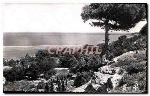 Postcard Old La Franqui Aude Sea from the heights of Franqui