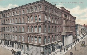 NASHVILLE , Tennessee, 1910 ; Maxwell Hotel