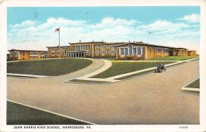 Pa. Harrisburg, John Harris High School, auto car