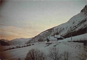 Italy Valle d'Aosta Bionaz, Tramonto Invernale, Winter Sunset